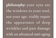 eye witness a miracle / philosophy: your eyes are the windows to your soul, not your age / by philosophy