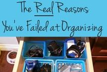 Modern Organizing / Simple and modern ideas for keeping your home tidy / by Heather