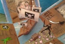 Exploding Picture Boxes I've made / by Chaplain Debbie Mitchell