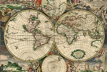 Old and interesting Maps and designs / by Augusto Cordeiro