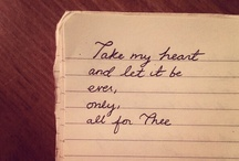 Note Worthy / by Audrey Turner