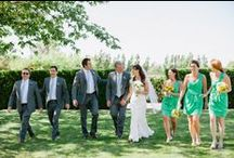 The Wedding Party / When all your special ladies and gents get together - it's a beautiful day! / by Style Me Pretty