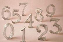 Table Numbers / weddingsophisticate.com / by Wedding Sophisticate