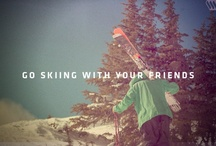 Skiing / my passion / by Grace Benge