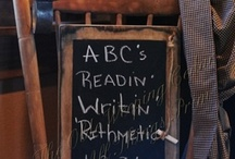 Chalkboard Ideas & More! / by Debby Decubellis