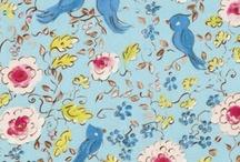 Fabric Inspiration / by Sara Frazier
