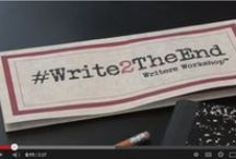 #Write2TheEnd - On Writing / Writing Quotes & Tips to inspire #Write2TheEnd participants and anyone else to achieve their writing goals -- All the way to The End. / by Kim Jorgensen Gane