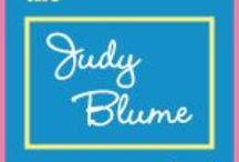 #JudyBlumeProject / CALL FOR SUBMISSIONS:  The #JudyBlumeProject is an anthology in the making.  It lives to honor the influence of Judy Blume's prolific works to the lives of her young readers, that persists well into adulthood.  We would LOVE to include YOUR contribution in blog form now, and perhaps one day in book form.  Visit our web page for guidelines:  http://www.westcoastposse.com/judyblumeproject.html / by Kim Jorgensen Gane
