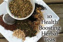 Herbs and Teas / Tea and herbs for health / by Tonya Risser