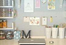 Home: Craft corner / by Erika Brandlhoffer