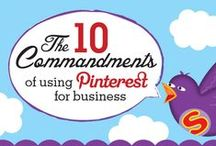 Pinterest | Infographics / Infographics that are all to do with this great social media tool, Pinterest! / by Inbox Insight