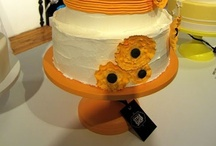 Orange Wedding Cake Stands / The most gorgeous cake designs on Sarah's Stands cake stands. / by Sarah's Stands