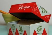 Recipe  Boxes and Books / by Donna Steger
