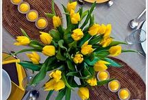 Spring Tablescapes / Set the table to celebrate the blooming of spring / by Hickory Farms