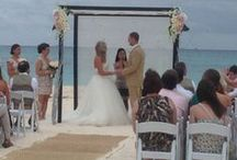 Playa del Carmen Mexico, beach wedding / January 2013 vacation and beach wedding  / by Outahere2travel/Paula Austin