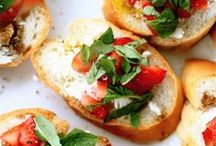 SNACKS & APPETIZERS / Lots of great ideas for snacks, things to eat between meals and dinner party appetizers. / by Sassy May