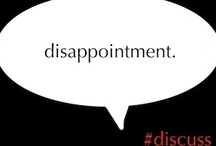 QUOTES - Disappointment  / Quotes about disappointment / by Connie Ott {MiscFinds4u.com}