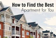 Apartment Guide Tools and Tips / Find Apartment Guide services, tools and tips for moving here! / by Apartment Guide