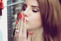 Lana Del Rey / Lana Del Rey, love her retro style & music! / by Marquise Lem