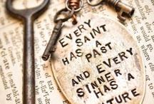 Words to Inspire! / by Angela Kubik