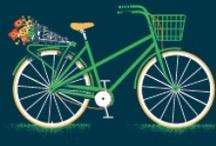 CYCLING/BIKE ART / by Gayle Diesing