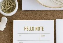 Paper Goods + Printables  / by Tori Tait :: Thoughtfully Simple