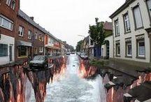 Street Art~Optical Illusion / by Rhonda Benz