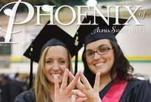 The Phoenix of Alpha Sigma Alpha / The Phoenix of Alpha Sigma Alpha, the official quarterly publication of Alpha Sigma Alpha Sorority, has been published continuously since 1914. Its mission is to reflect the character of the organization and its members and communicate the goals and the direction of the sorority and Foundation. / by Alpha Sigma Alpha Sorority