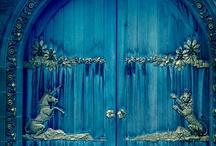 Enchanting Doorways / Doors and Door Surrounds / by Lady Rosabell