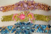 Beaded Bracelet Patterns / Individual Patterns for sale from various designers in one location. Many FREE items (bead patterns and tutorials) are available. http://www.bead-patterns.com/shop/shop.php / by Bead-Patterns (Sova-Enterprises.com)