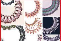 Beaded Necklace Patterns / by Bead-Patterns (Sova-Enterprises.com)