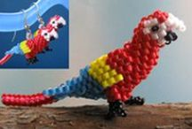 3-D Bead Patterns / by Bead-Patterns (Sova-Enterprises.com)