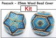 Beaded Bead Patterns / by Bead-Patterns (Sova-Enterprises.com)