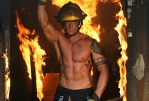 Hunks In Uniform / ...or at least part of one ;) / by Rachelle Vaughn