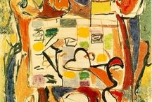Artist : Jackson Pollock : Abstract Expressionist / by Stephanie Smith