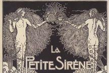 Illustrator : Aubrey Beardsley : Art Nouveau / by Stephanie Smith