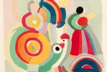 Artist : Sonia Delaunay : Orphism : Geometric Abstraction / by Stephanie Smith