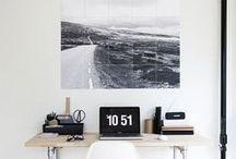 Home office desk ideas / by Jiawa Liu