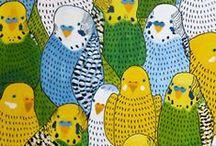 Birdy Art / by MakeWells