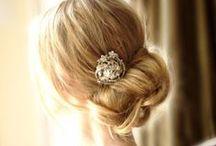 wedding hair / by Rachel Kenington