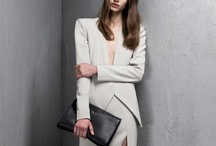 Plain Jane / Simplicity at its highest sophistication. Clean lines and futuristic gestures pave the way for Spring Summer 2014. Purity in linear silhouettes stand true for the purity in colour also. / by Amanda Dion