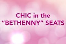 "Chic in the ""bethenny"" Seats / by Bethenny Frankel"