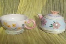 Tea for One / Collector teapots: two piece unit Pot and Cup / by Dana Loraine