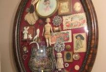 Inspiration for my Creativity / Mixed Media, assemblage, collage, jewelry and construction / by Dana Loraine