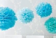 Aqua, Teal & Turquoise / by Girlfriend Galas...A Party Boutique