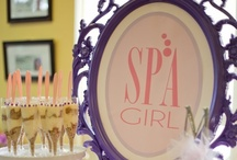 Spa Party  / We love the idea of a relaxing party!  / by Girlfriend Galas...A Party Boutique