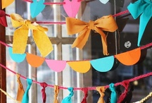 Banners, Streamers & Garlands / Banners, streamers and garlands are what makes a party feel like a party! They add that extra-special touch and make any occasion that much better! / by Girlfriend Galas...A Party Boutique