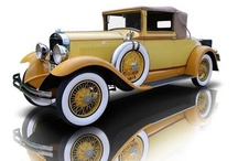 Vintage Cars / Old cars from the first half of the 20th Century and late 19th century. / by SimplyEighties.com