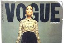 1969 Pattern Catalogs / Fashions from 1969, as seen in our pattern books of that year from McCalls, Butterick and Vogue Patterns. / by The McCall Pattern Company