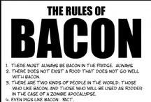 You had me at Bacon!!! / Everything's better with bacon. I have tried the recipes on this board and they are all good enough to make the Bacon keepers. I am talking real bacon, not turkey, not tofu, just good cured pork bacon!!! / by Debi O'Brien